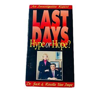 Last Days Hype or Hope VHS Investigative Report Dr. Jack & Rexella Van Impe