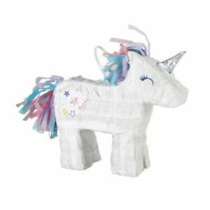 Mini Unicorn Pinata Birthday Party Table Decoration Girls