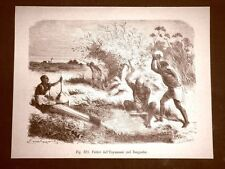 Fabbri dell'Unyamuezi nello Zanguebar nel 1883 Africa orientale