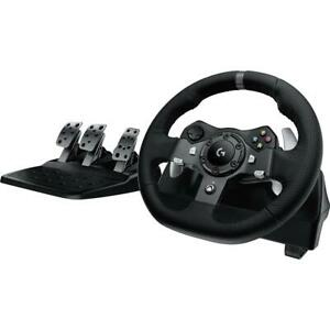 Logitech G920 Driving Force Racing Wheel and Pedals for Xbox X|S, Xbox One  PC