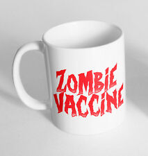 Zombie Vaccine Cup Ceramic Novelty Mug Funny Gift Tea Coffee