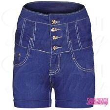 Unbranded Denim Hot Pants High Rise Shorts for Women