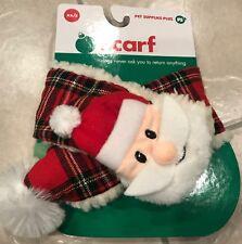 New listing Nwt Pet Supplies Plus Dog size Xs / S Santa plaid holiday Christmas scarf