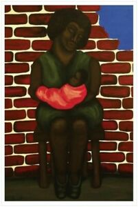 Original ethnic semi gloss poster 36 in x 24 in by artist Karen Terry