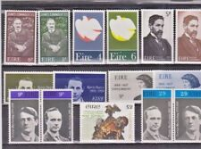 Ireland Eire: 15 MNH stamps. Irish Republican Patriots.