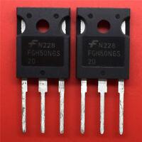 (1PCS) FGH50N6S2D IGBT N-CHAN 600V 75A TO-247 FGH50 50N