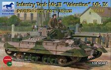 Bronco 1/35  Infantry Tank Mk.III Valentine Mk.IX   #35144