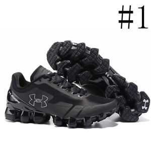 Men's Under Armour Mens UA Scorpio Running Shoes Fashion Black white Leisure