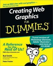 Creating Web Graphics for Dummies by Bud Smith and Peter Frazier (2003, Paperba…