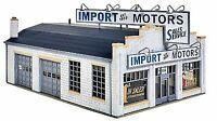 WALTHERS CORNERSTONE HO SCALE IMPORT MOTORS PLASTIC KIT KIT 933-4023