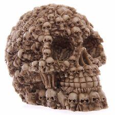 Skull Statue Figurine Human Shaped Skeleton Head Medical Demon Ghost