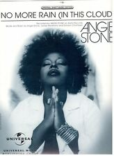 ANGIE STONE-NO MORE RAIN (IN THIS CLOUD) PIANO/VOCAL/CHORDS SHEET MUSIC-RARE-NEW
