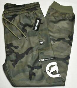 Ecko Unltd Jogger Pants Men Simple Story Logo Cargo Sweatpants Combat Camo Q726