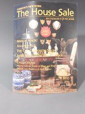 Christie's New York The House Sale Auction June 6-7 2006 Auction Catalog