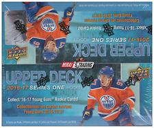 2016-17 Upper Deck Series One NHL Hockey Retail Box