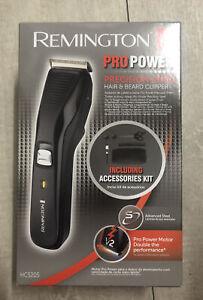 Remington Pro Power Precision Steel Hair & Beard Clipper Including Accessories