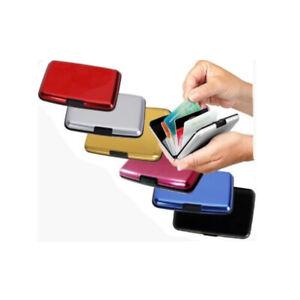 Aluminum CREDIT CARD HOLDER WALLET CASE PURSE METAL BUSINESS CARD PROTECTOR
