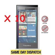 10 X Blackberry Leap Anti-reflet écran LCD mat Protections Film Housse &
