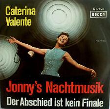 """7"""" 1966 RARE MINT-! CATERINA VALENTE Jonny´s Nachtmusik"""