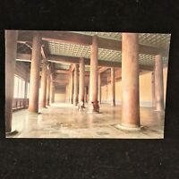 Vintage Post Card Inside View Of The Hall Of Eminent Favours  Beijing China