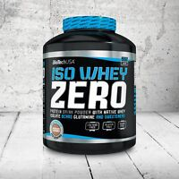 Biotech USA Iso Whey Zero Protein New  Lactose & Gluten Free isolate