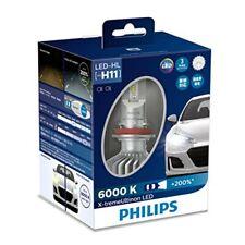 New listing Philips Headlight Led Bulb H11 6000K 1350lm 12V 22W X-treme Ultinon 2 pcs
