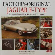 Livre/guide/book Jaguar E-type 3.8 4.2 & V12 (the Originality Guide