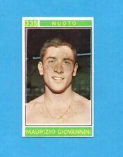 CAMPIONI dello SPORT 1967/68-Figurina n.335- GIOVANNINI - NUOTO -Recuperata