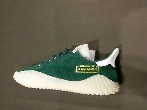 Adidas Men's Kamanda Dark Green/White Rare Release G27713 Size 11.5