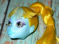 Mattel Monster High Doll LAGOONA BLUE HEAD ONLY for OOAK or Custom YELLOW HAIR