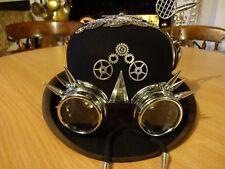 FIRE-MASTER  BRAIN Victorian / Edwardian Steampunk hat Unique Art to wear/show