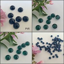 Flatback Cabochon Vintage Flawed Glass Czech ROUND Pack Size COLOUR OPTION