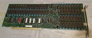 Commodore Amiga 8mb RAM A2000 REV 3 card - Zorro II - UMass Lowell find! Memory