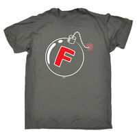 Funny Novelty T-Shirt Mens tee TShirt - F Bomb
