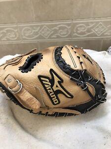 """Mizuno GXC-100 31"""" Youth Baseball Softball Catchers Mitt Right Hand Throw"""