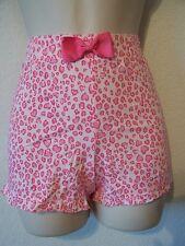 JENNI Size XXLarge 100% Cotton Knit Ruffle Boxer Shorts with Bow