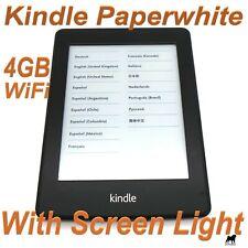 Amazon Kindle Paperwhite 6th Gen 4GB Wi-Fi Black Grade C - #069