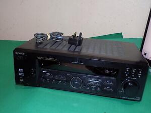 SONY AV Surround Cinema Amplifier Amp Stereo Receiver STR-DE585 FAULTY SPARES
