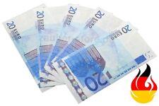 Zauberpapier Pyropapier 20 Euro x 10St Flash Paper Pyro Blitzpapier Trick
