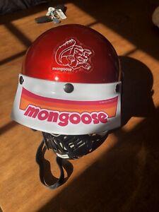 Vintage ALLSPORT Open Face Moto Helmet - Mongoose BMX