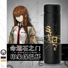 Steins;Gate Makise Kurisu Thermos Cup Vacuum Mug Water Bottle Student Gifts
