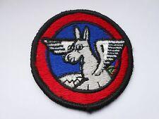 RAF/USAF squadron  cloth patch  of a winged flying  pony