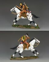 KING & COUNTRY THE REAL WEST TRW057 SPOTTED TAIL MIB