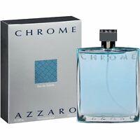 Azzaro Chrome Hommes EDT 200ml Eau de Toilette NEUF SOUS BLISTER 100%Authentique