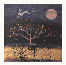 PAGAN WICCAN GREETNG CARDS Salt White Waters CELTIC HARE Goddess CATHERINE HYDE