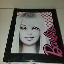 Vintage Barbie Doll Black Vinyl Storage Carry Case with Handle