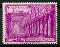 Vaticano 1949 Sass. 129 Nuovo ** 100% Basiliche