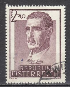 AUSTRIA used 1957 SC# Nr 615 dr. Julius Wagner-Jauregg - psychiatrist
