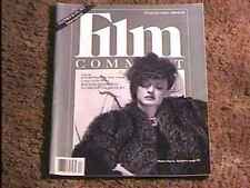 FILM COMMENT MAGAZINE MARCH '89 VF BETTE DAVIS