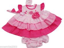 Ropa rosa de algodón y poliéster para niñas de 0 a 24 meses